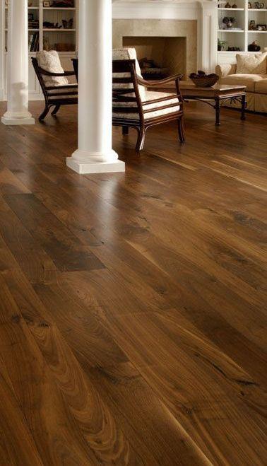Walnut Floors With Medium Stain Wood Floors Wide Plank Living Room Wood Floor Walnut Hardwood Flooring