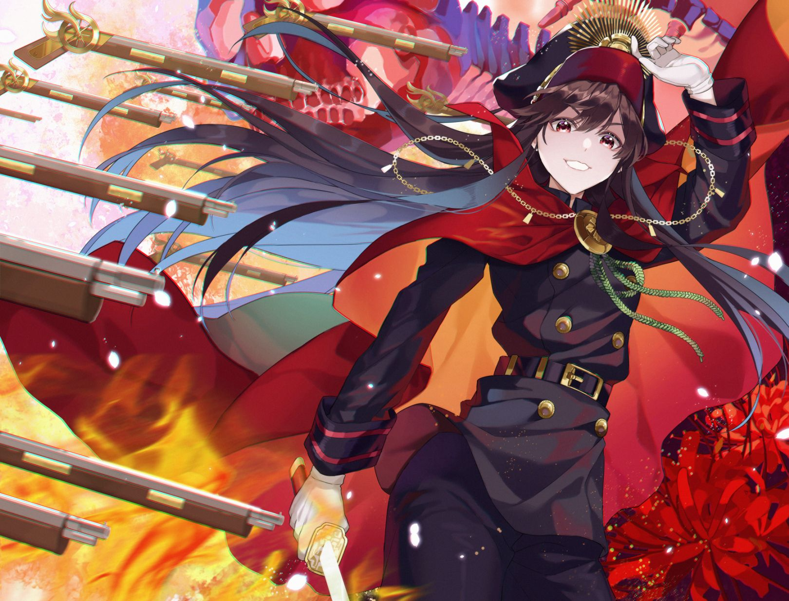 Oda Nobunaga Fate Grand Order One Punch Anime Fate Stay Night Series Manga Illustration