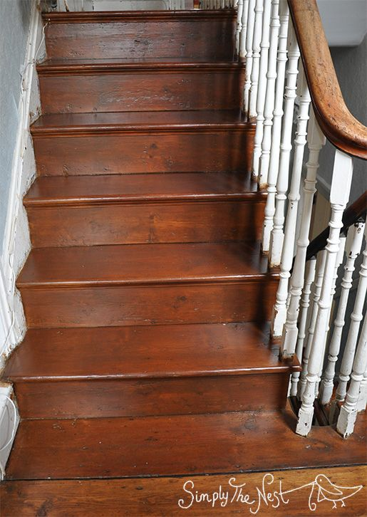 Captivating Wooden Staircase Finished With Osmo Polyx Oil Tints In Amber 3072   By  Simply The Nest