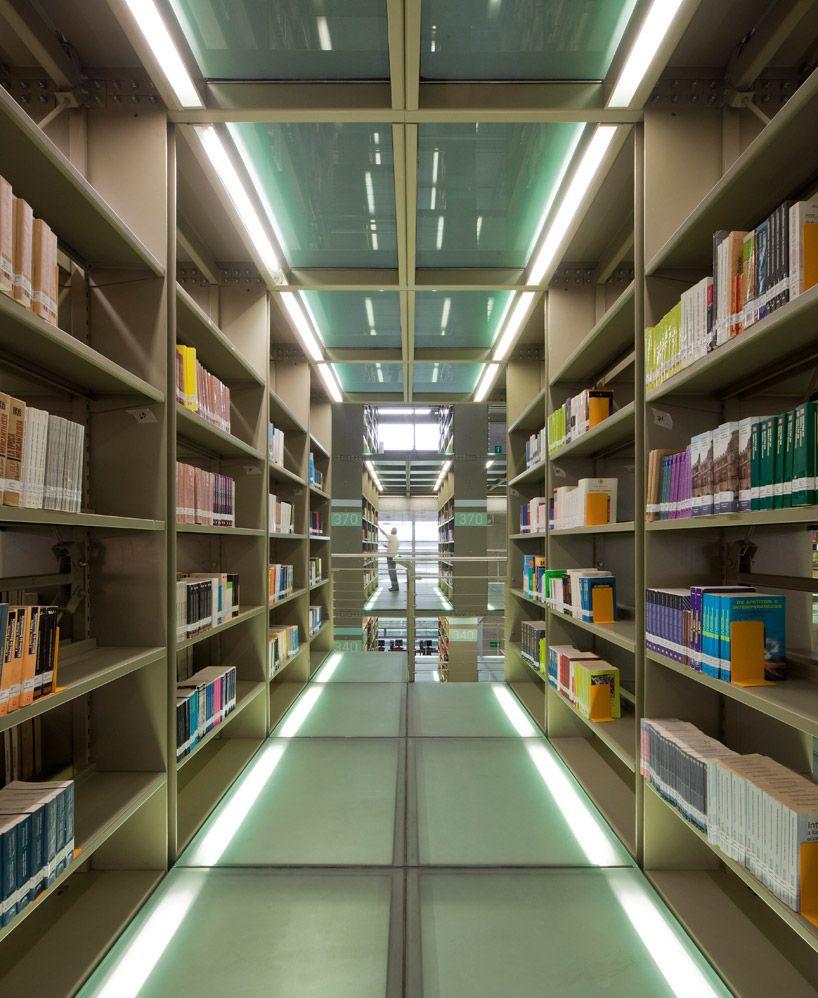 Biblioteca Vasconcelos In Mexico City By Alberto Kalach Space