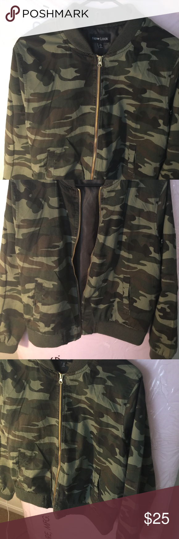 New army bomber jacket military