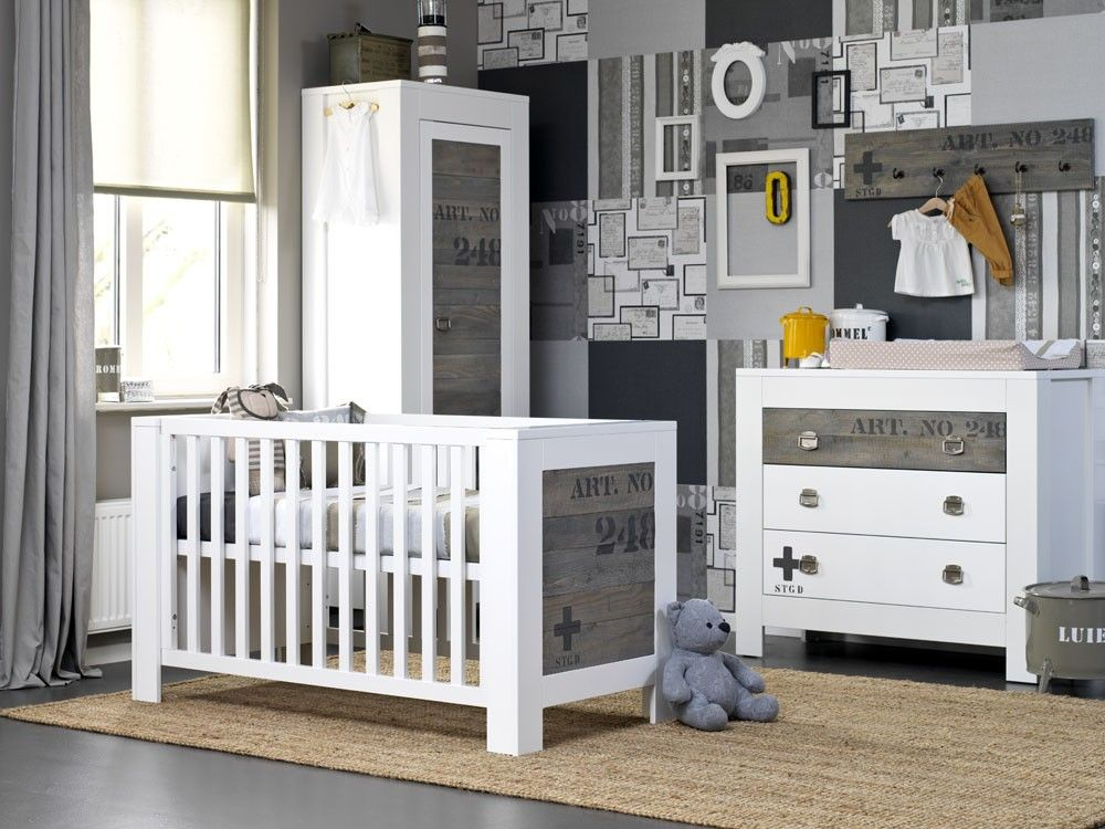babykamer steigerhout behang - google zoeken | overig | pinterest, Deco ideeën