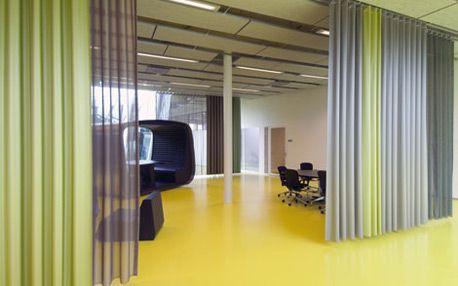 Room Dividers Curtains Track Project Gordijnen Ophangen Gordijnen Wanden