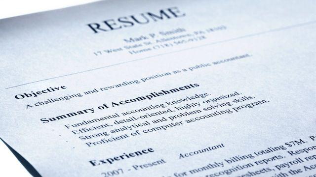 Leave Your Old Job Description Off Your Resumé; List Your