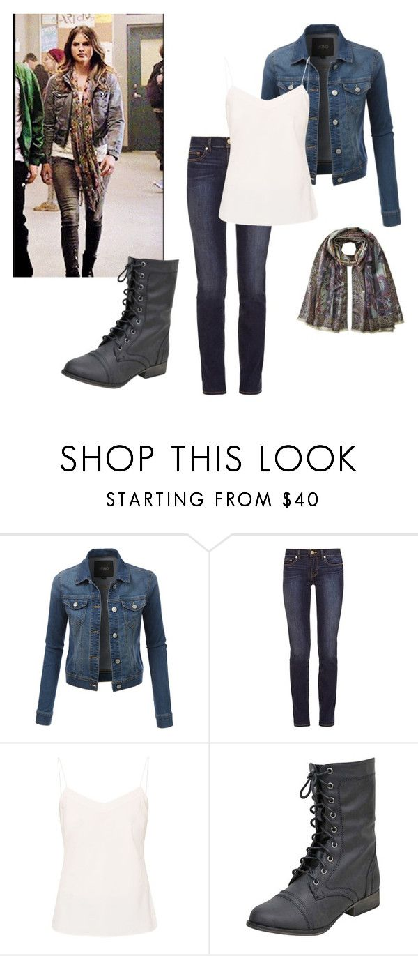 """""""Teen Wolf Malia-Inspired Outfit"""" by stilinskiismybatman ❤ liked on Polyvore featuring LE3NO, Tory Burch, Ted Baker and Etro"""