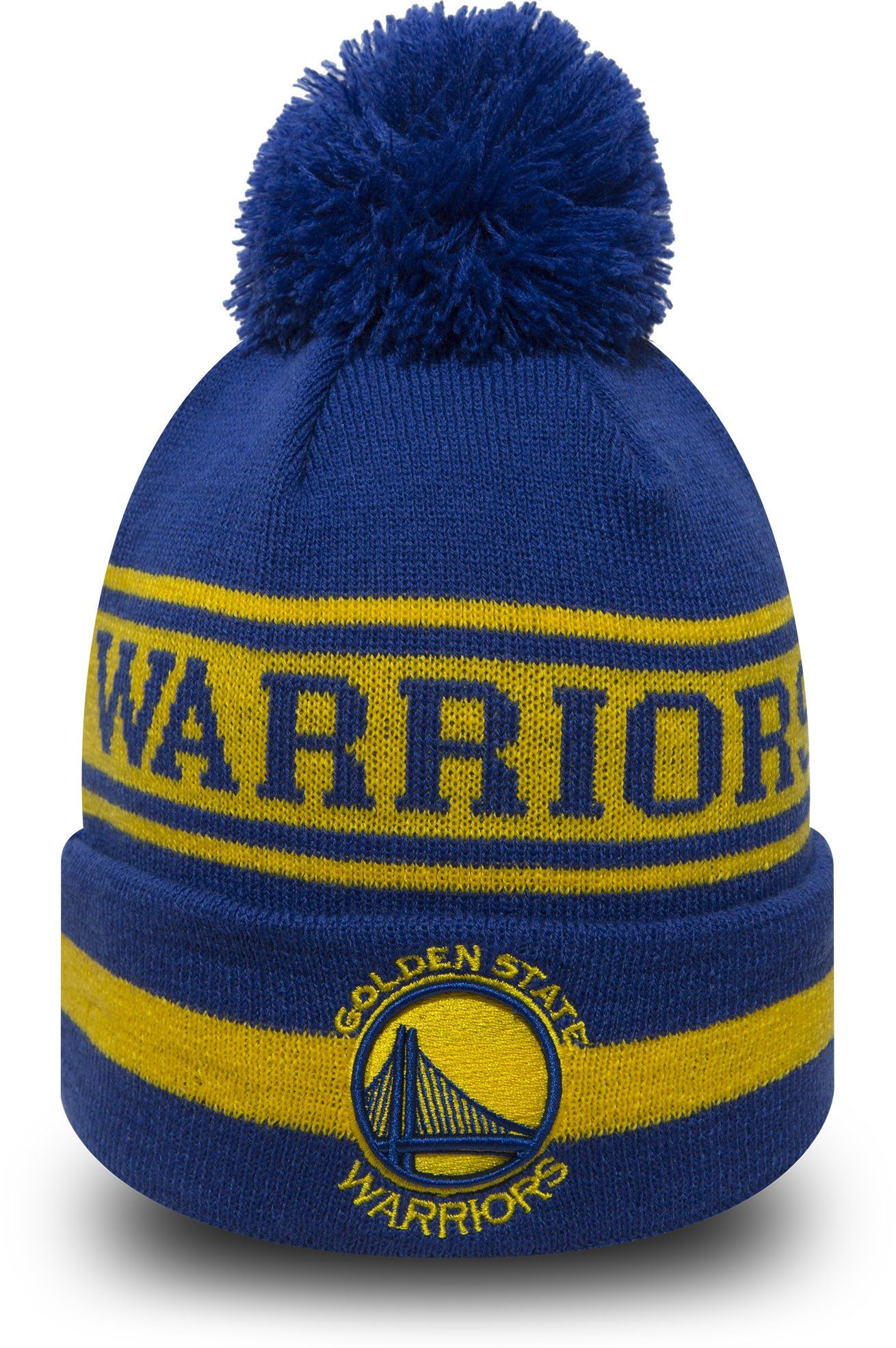 90d37f5f158 Golden State Warriors New Era NBA Team Jake Bobble Hat – lovemycap ...