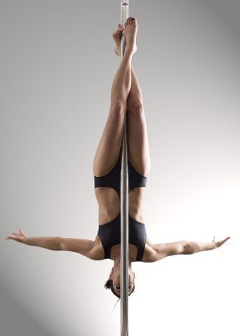 Pole Dance Inverted Crucifix Getting Out Of This Move Is Terrifying