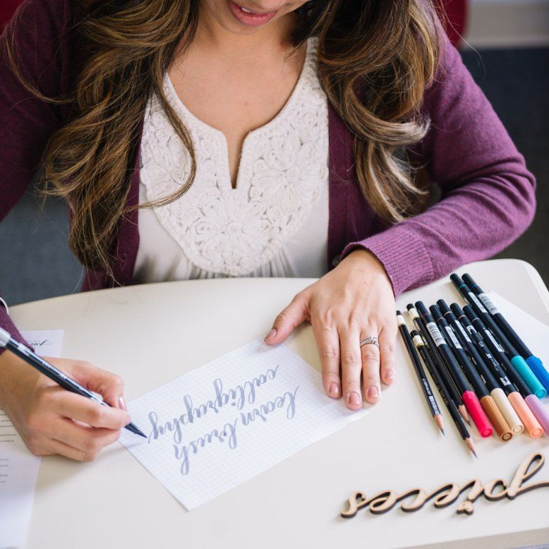 pieces calligraphy – Learn brush calligraphy online!