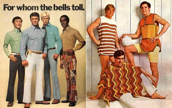 Real Vintage Clothing: The Funniest 1970s Men's Fashion Ads