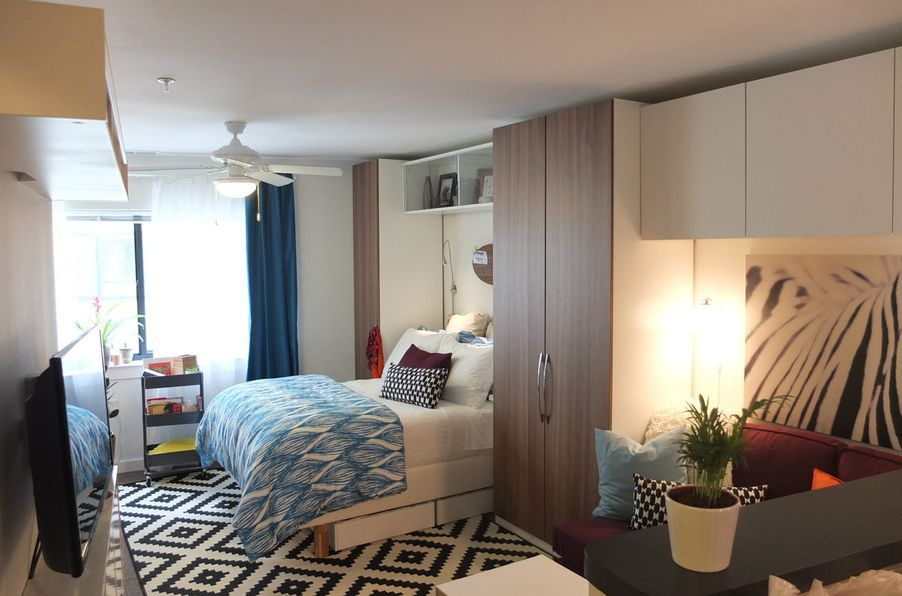 13 Clever Tiny Apartments That Are So Freaking Inspiring Small Room Design Ikea Makeover Apartment Makeover