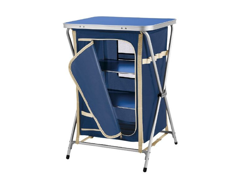 Crivit Camping Cupboard With Shelf Monday 25 04 Lidl Uk