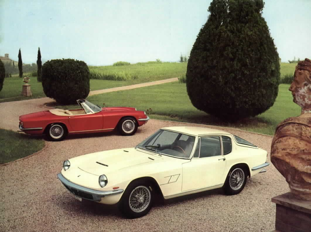Vintage #Maserati Mistral promo picture @Maserati | Auto D\'epoca ...