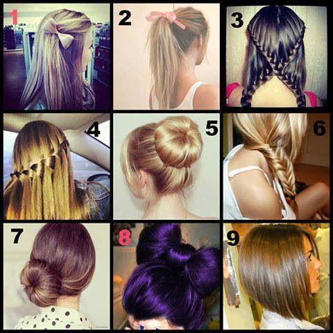 Lots of cute hair styles! !!