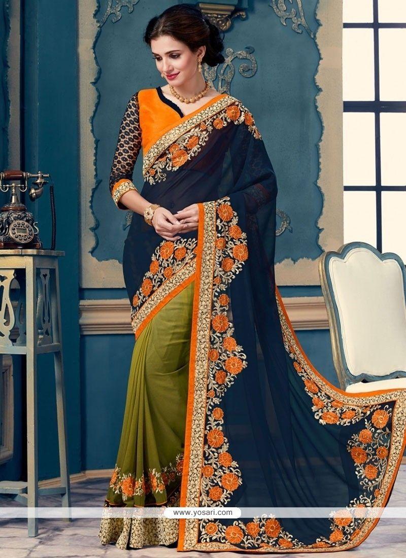 Rose Bollywood Saree Party Indian Pakistani Ethnic Wedding Designer Sari 97