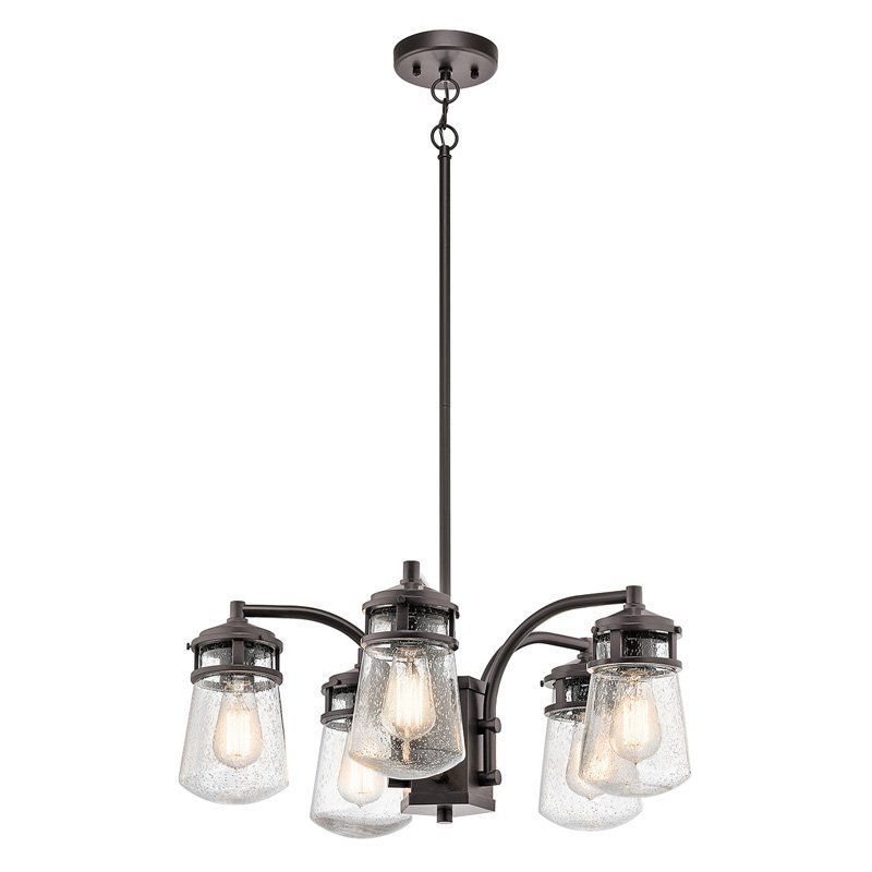 Kichler lyndon 49498az outdoor chandelier from hayneedle com