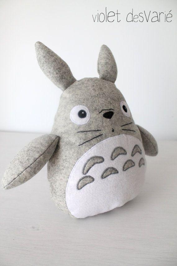 doudou bebe totoro