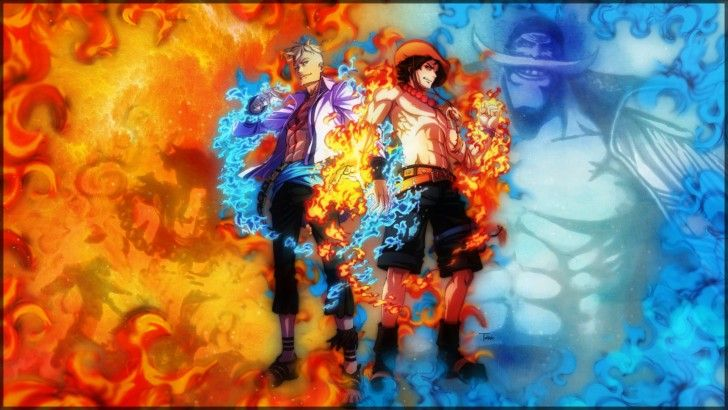 Phoenix Marco Fire Fist Ace One Piece Hd Wallpaper 1080p One Piece Wallpaper Iphone One Piece Drawing One Piece Ace
