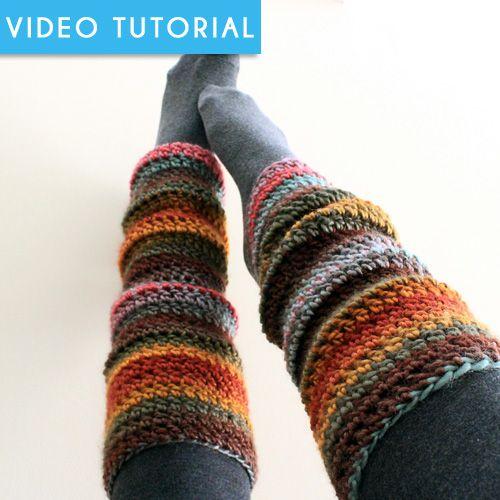 Amazing Crochet Leg Warmers Pattern Ensign Easy Scarf Knitting