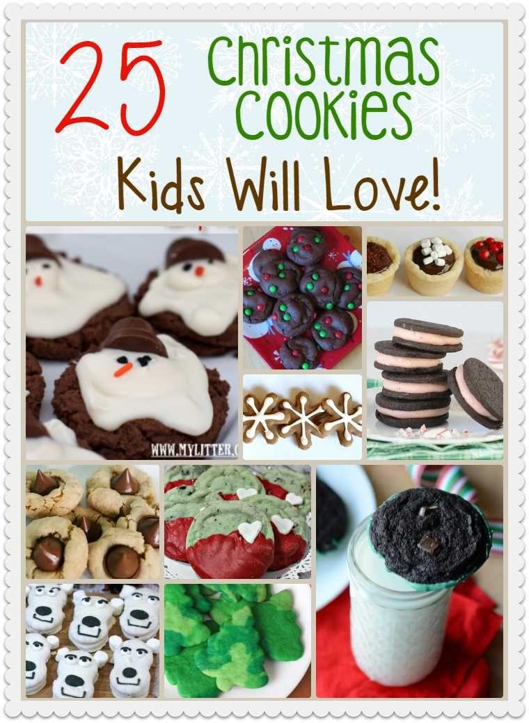 Christmas Cookies Kids Will Love Christmas Christmas Cookies
