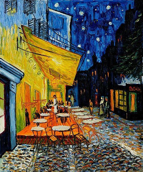 Van Gogh- cafe Paris at night