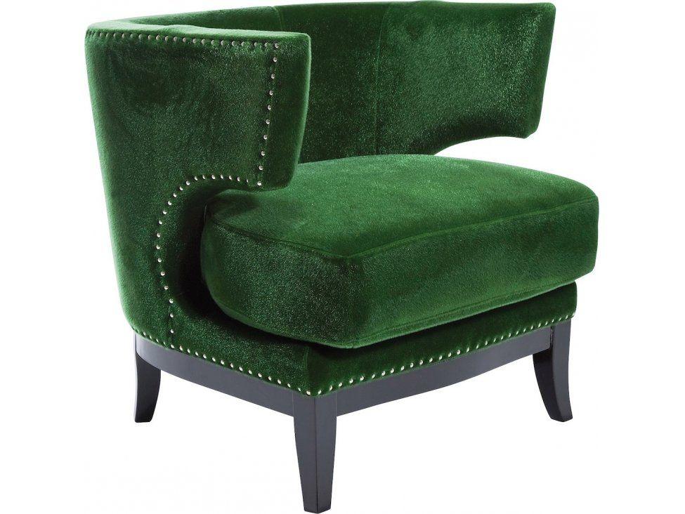 Fotel Art Deco zielony — Fotele Kare Design — sfmeble.pl