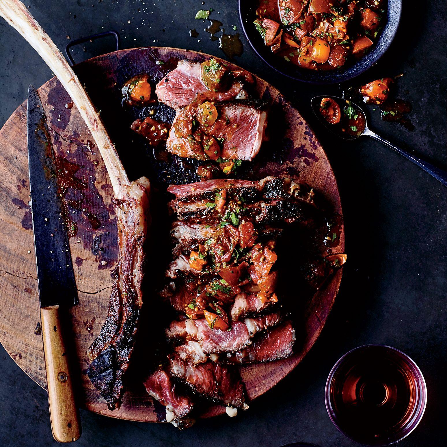 Tomahawk, steak: recipes for juicy meat