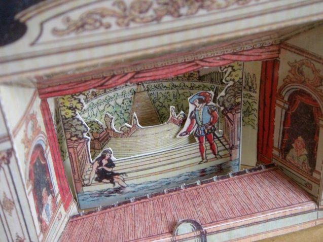 Paper Theater 画像あり 昔 シアター ドールハウス
