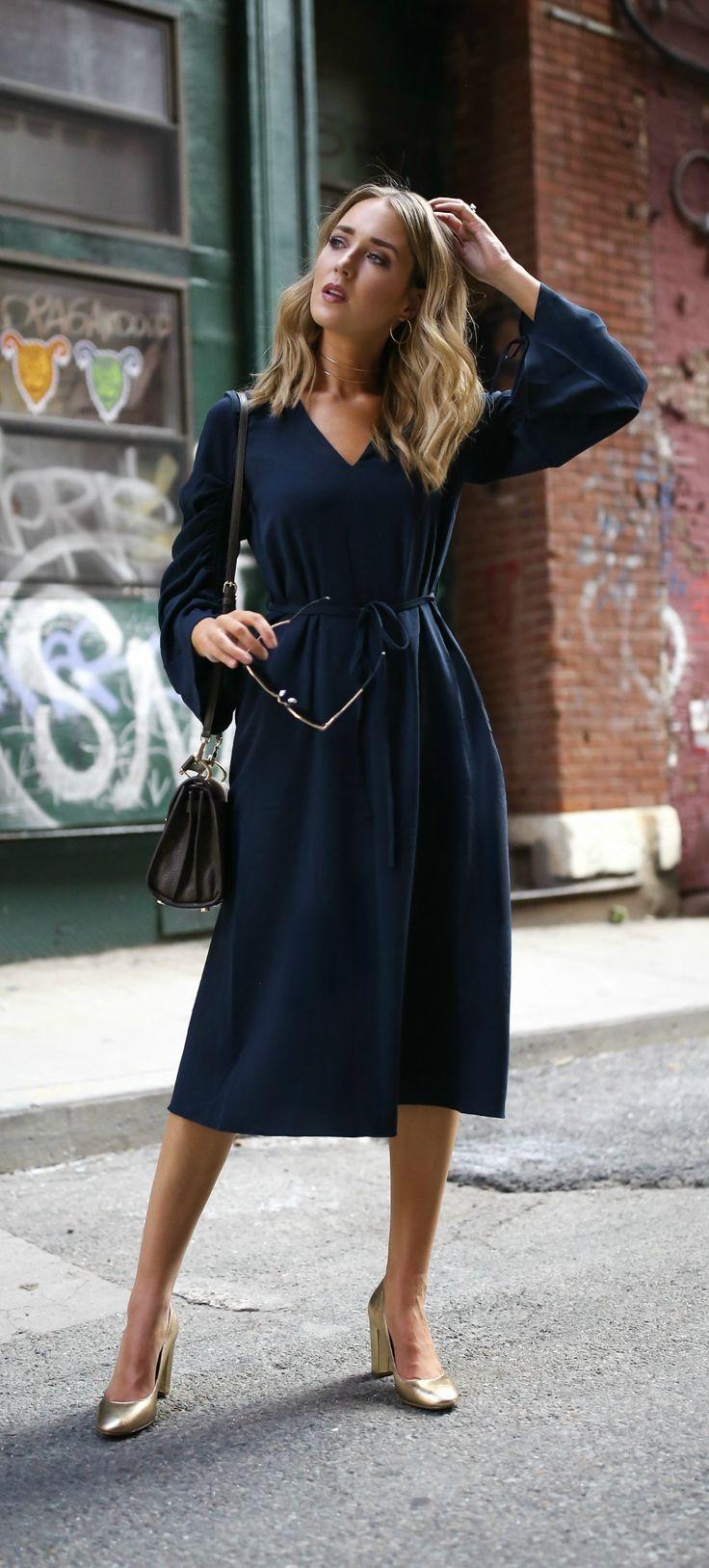 0df0fd564 Vestido azul marino invitada boda  invitadaperfecta