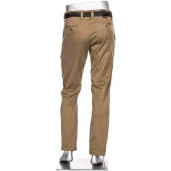 Photo of Alberto Herren Chino Hose Lou, Regular Slim Fit, Pima Baumwolle, beige Alberto