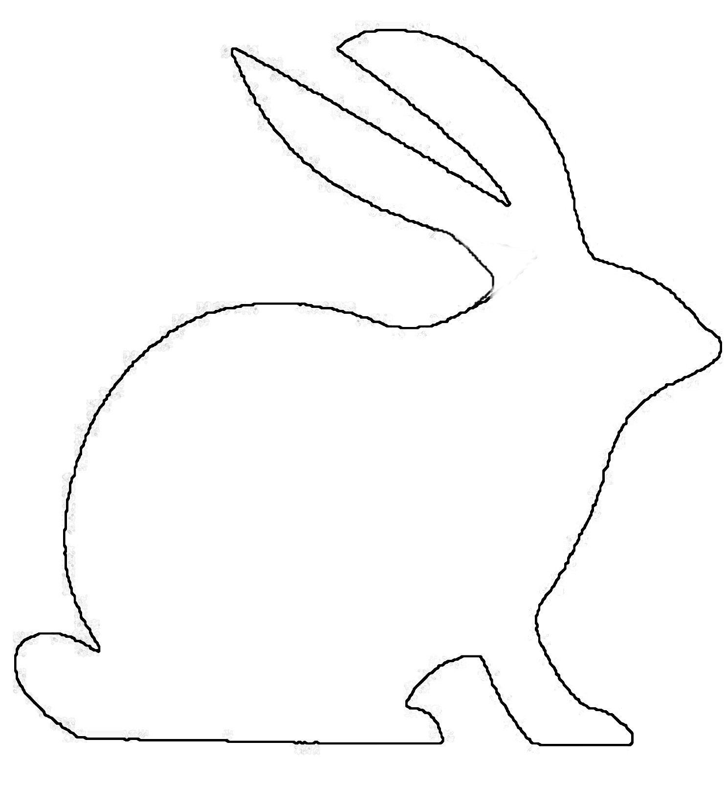 Free Rabbit Patterns To Paint