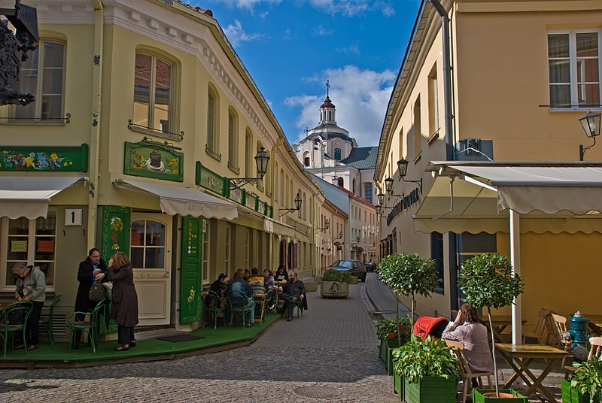 What you can see in Vilnius