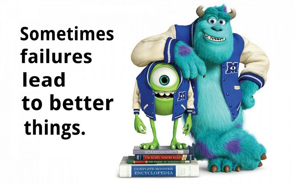 Monsters University The Most Real And Inspirational Movie For Me Monsters University Quotes Monsters Inc Quotes Monster University
