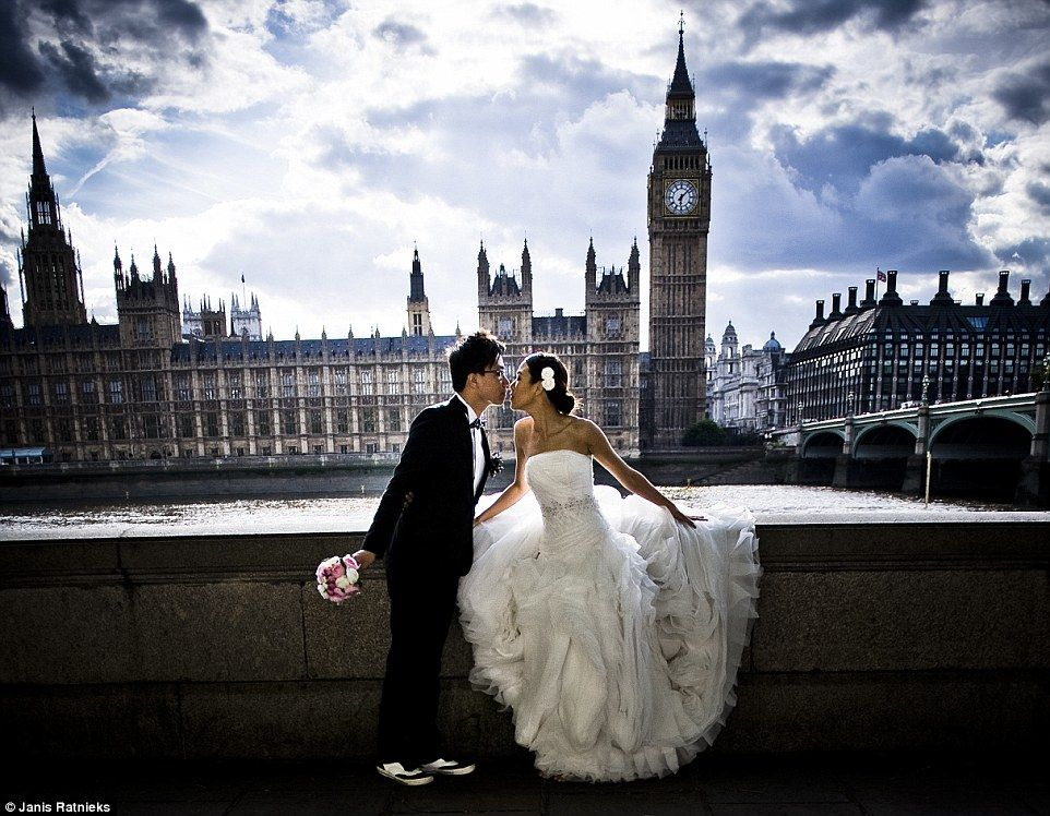 Asian couples flock to the UK for