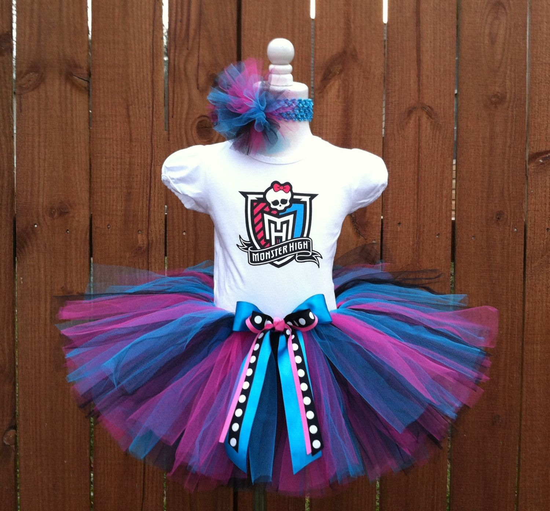 Beautiful Monster High Birthday Tutu Dress By Hissyfitstutus Monster High Birthday Monster High Birthday Party Monster High Party