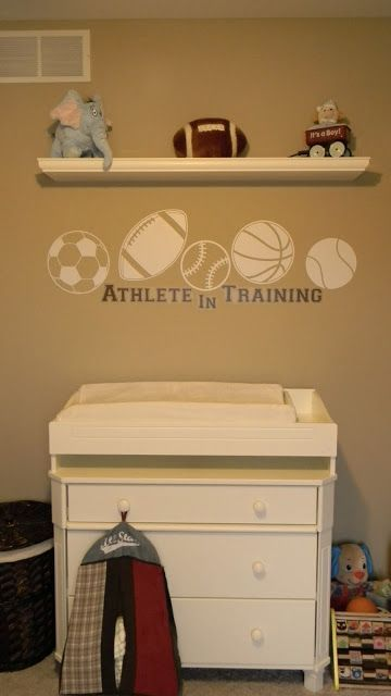 Sports Theme Nursery Decorations