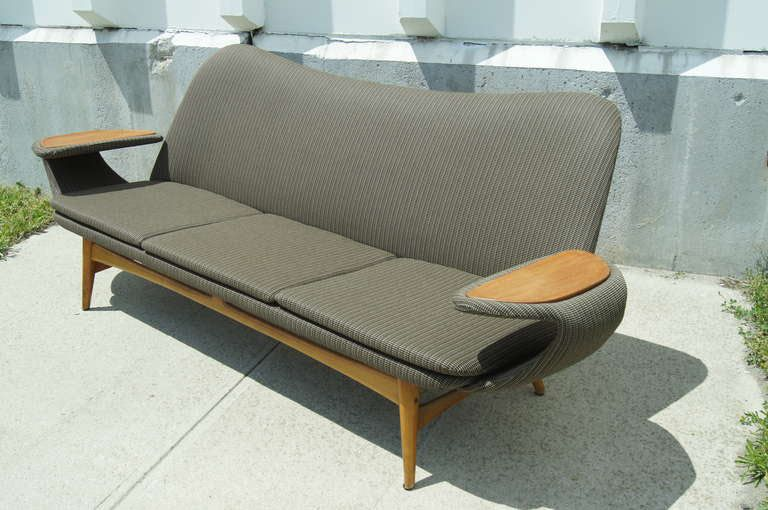 Fresh Milk Daily Pick Vintage Scandinavian Sofa