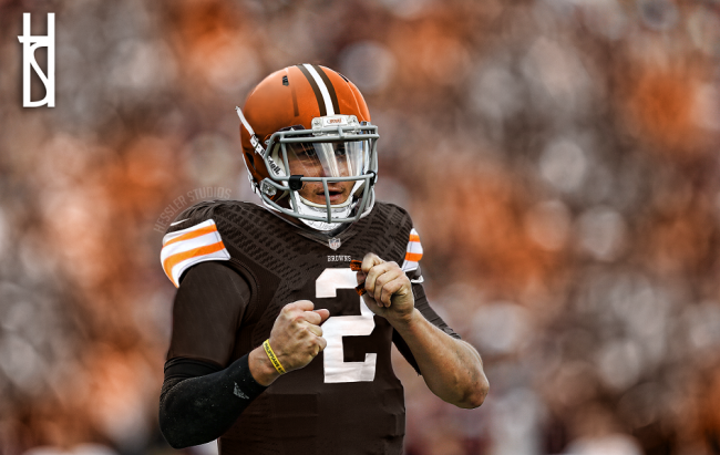 Johnny Manziel Cleveland Browns Desktop Background