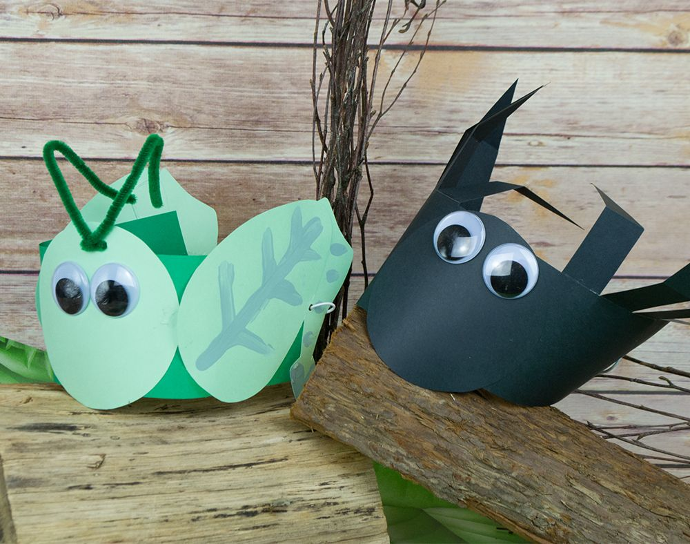 Cricket spider headband or party hat craft idea for The cricket arts and crafts