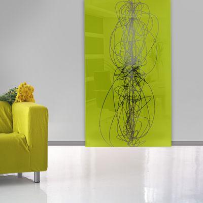 Portes coulissantes décoratives en verre imprimé IDÉES POUR LA