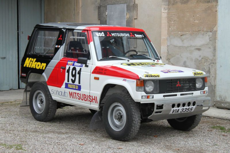 39 84 mitsubishi pajero won the production modified