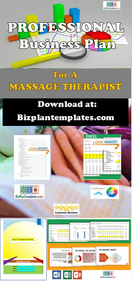 Massage Therapist Business Plan Template With Example And Sample