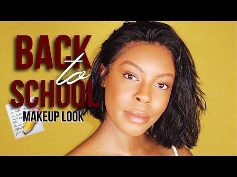 Back To High School High End Luxury Makeup Routine High