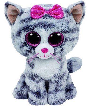 Free Shipping Buy TY Beanie Boos  Kiki the Cat Glitter Eyes