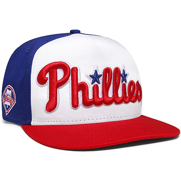 e2ab840479d Philadelphia Phillies New Era Fresh Script A-Frame 9FIFTY Adjustable Hat -  Royal Red -  27.99