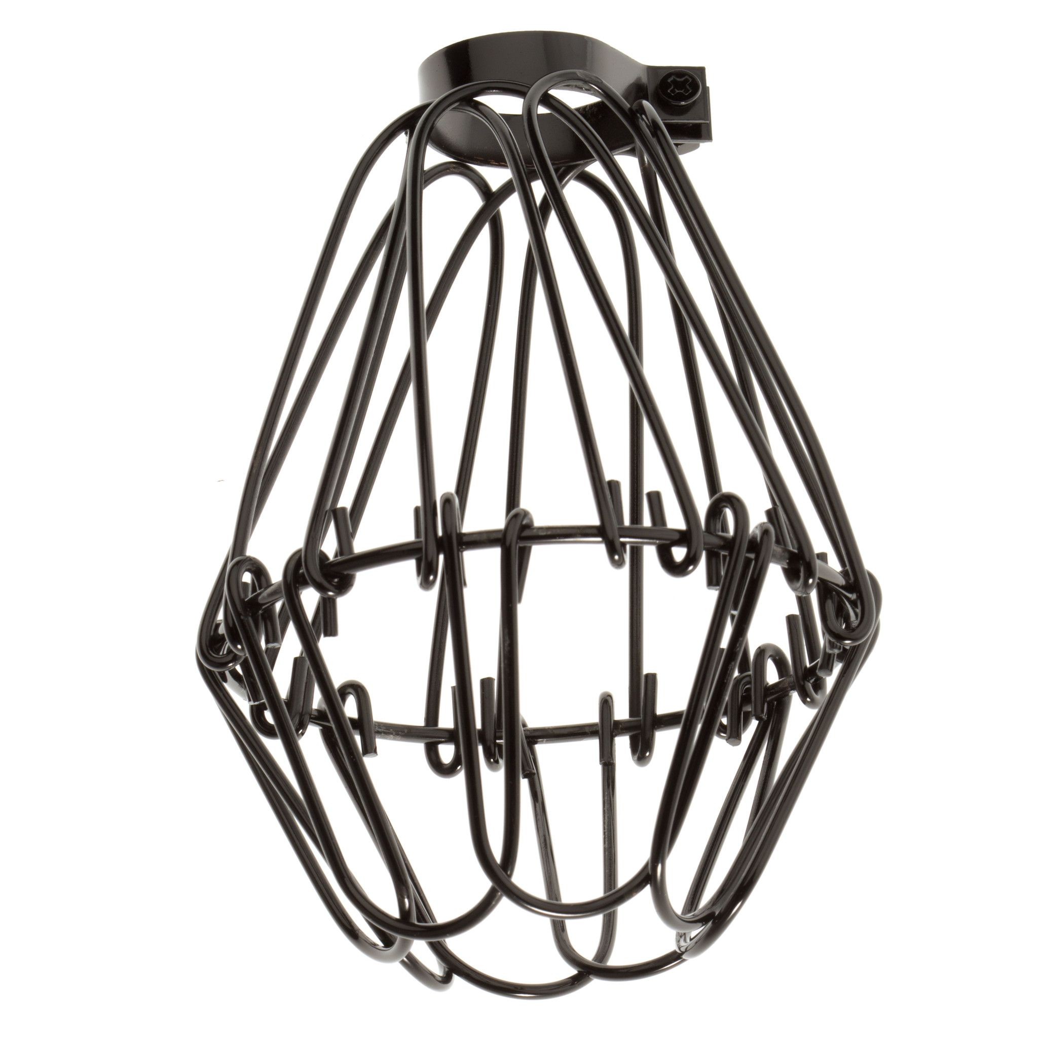 Industrial Wire Cage - Graphite from Color Cord Company | Lighting ...