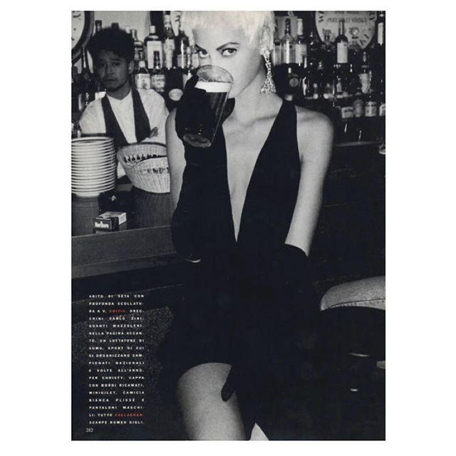 2018/02/21 19:25:40 Christy Turlington by Patrick Demarchelier for Vogue Italia, November 1990 @voguemagazine @vogueitalia @cturlington @patrickdemarchelier @yohjiyamamotoofficial · · · #nhrlove #vogue #vogueitalia #magazine #christyturlington #patrickdemarchelier #photography #90s #vintage #japan #yojiyamamoto #isseymiyake #annadellorusso #alicegentilucci #didiermalige #moyramulholland #blackandwhite #styling #fashion #italy