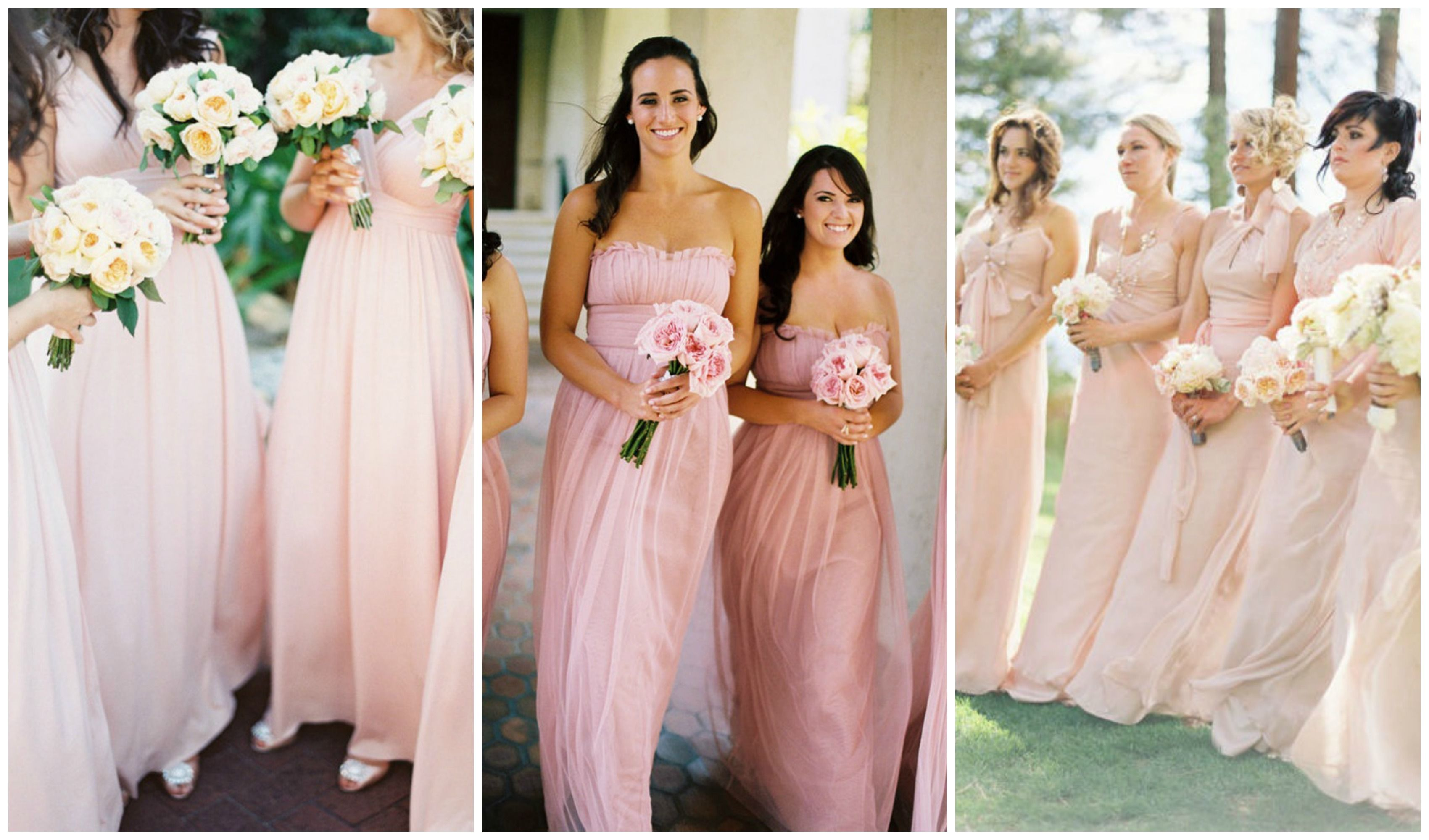 Pink blush bridesmaid dresses bridesmaid dresses pinterest pink blush bridesmaid dresses bridesmaid dresses pinterest pink bridesmaid dresses blush and gold wedding theme ombrellifo Images