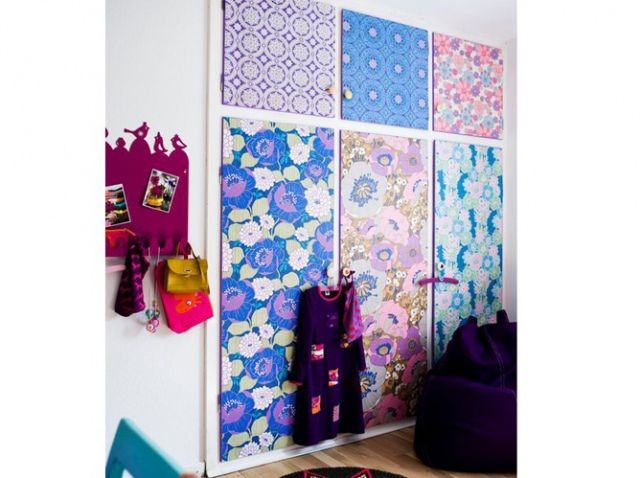 Papier Peint Porte Placard Ysée Chambre Pinterest - Papier peint porte
