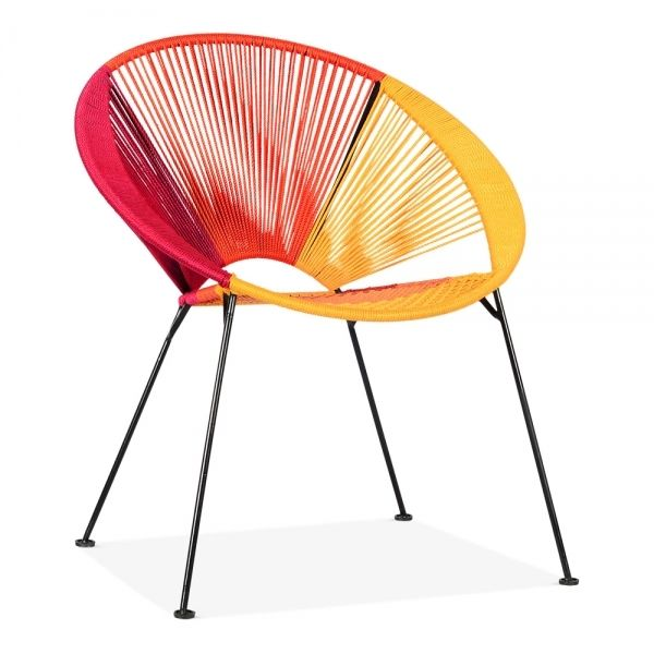 Photo of Catalina Woven Garden Lounge Chair, Multi-Coloured