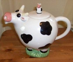 I think the novelty teapot in the shape of cow pictured here is great fun. I'm not a collector of novelty teapots  but this is one I do own. I...
